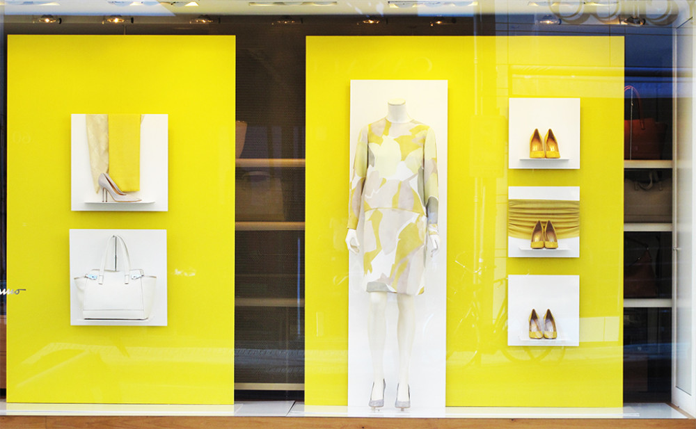 best-window-displays_salvatore-ferragamo_2013_summer_yellow_01-1000x617